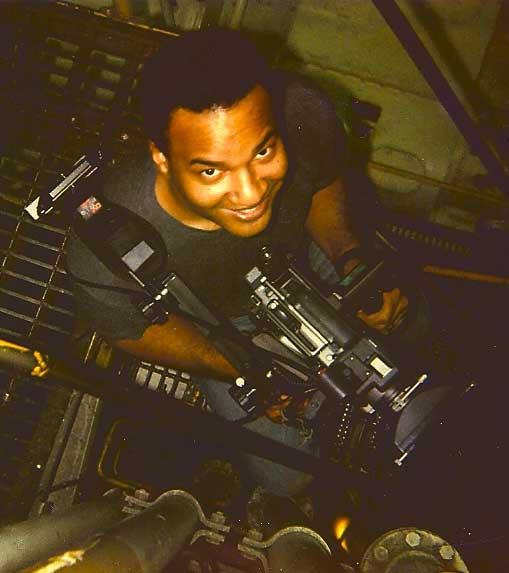 Photo of camera operator