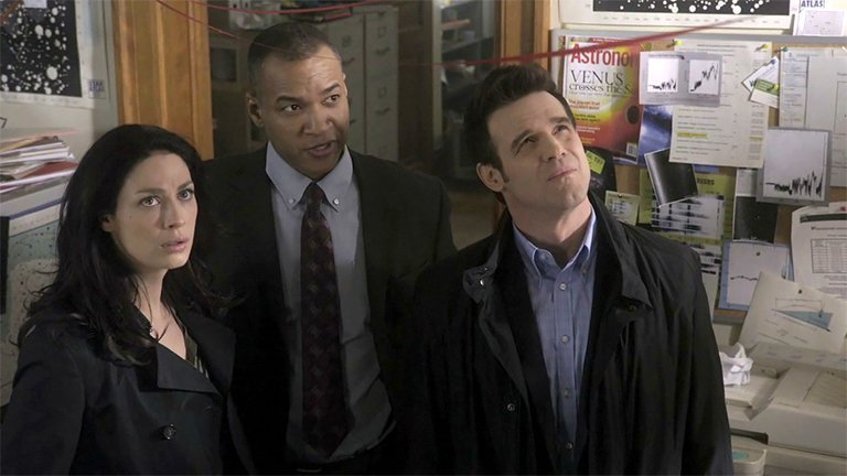 Screengrab from Warehouse 13 TV show