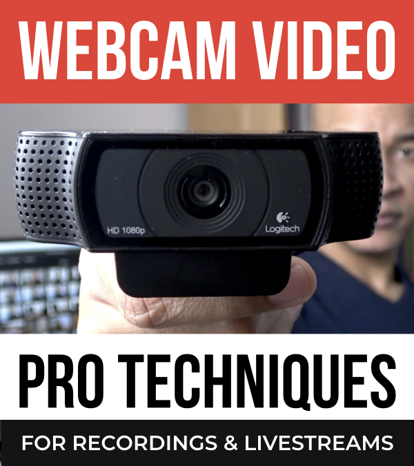 Webcam video creation workshop